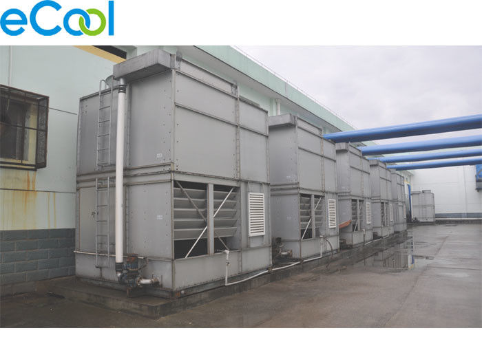 ISO Evaporative Condenser Tower For Cold Storage Blast Freezing Equipment